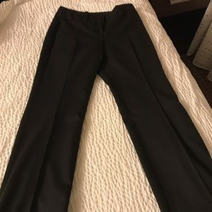 Ann Taylor Curvy Black Cuffed Pants